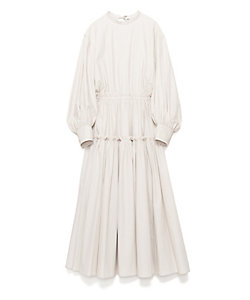 CASA FLINE(Women)/カーサフライン ボリュームスリーブギャザードレス