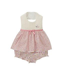 MIKI HOUSE(Baby&Kids)/ミキハウス うさこ スタイ・ブルマセット(14-7907-826)