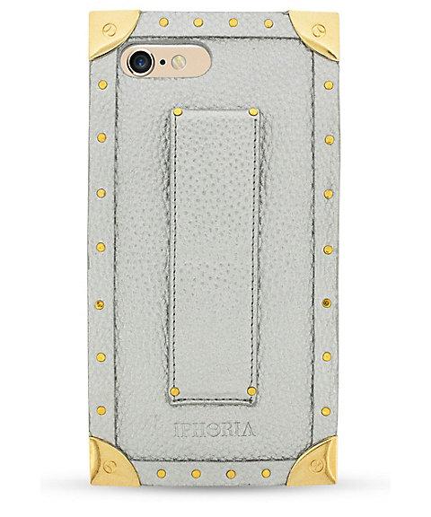 <アイフォリア/IPHORIA> TRUNK CASE SILVER スマートフォンケース(iPhone7/iPhone8対応)(14139) 【三越・伊勢丹/公式】