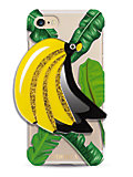 MIRROR CASE JUNGLE BANANAS スマートフォンケース(iPhone7/iPhone8対応)(14286)