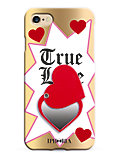 MIRROR CASE TRUE LOVE スマートフォンケース(iPhone7/iPhone8対応)(14287)