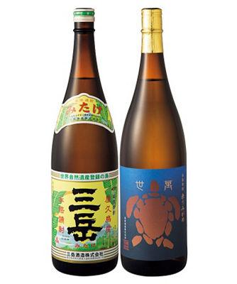 (DHL)人気芋焼酎 三岳&赤うみがめ 1升瓶2本セット 06908<三越・伊勢丹/公式>