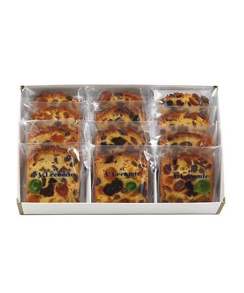 <ルコント/Lecomte> フルーツケーキカット 12枚入(洋菓子)【三越・伊勢丹/公式】
