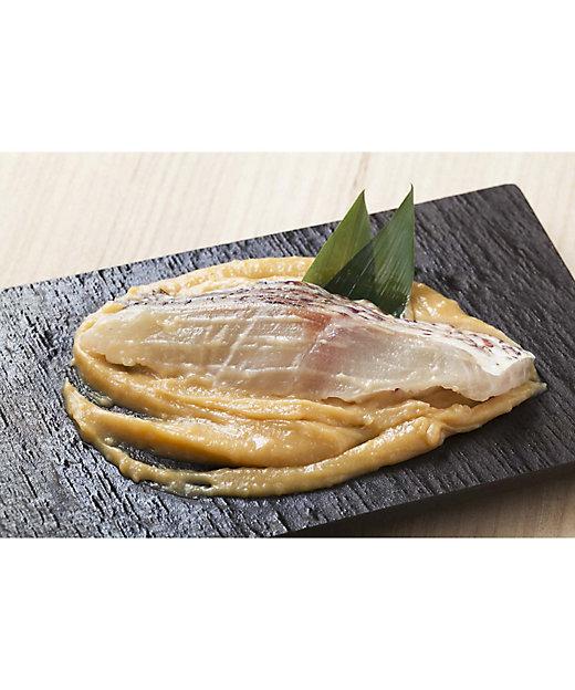 <京粕漬 魚久/キョウカスヅケ ウオキュウ> 真鯛酒粕白味噌漬【三越伊勢丹/公式】