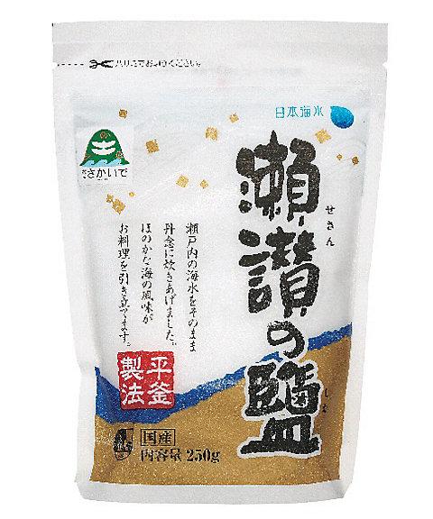 <日本海水> 瀬讃の塩【三越・伊勢丹/公式】