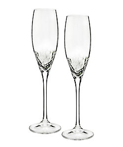 WEDGWOOD/ウェッジウッド ヴェラ・ウォン クリスタル シークイン シャンパン ペア
