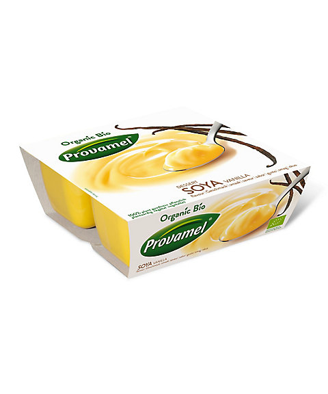 三越・伊勢丹オンラインストア<プロヴァメル/Provamel> オーガニック 豆乳デザート バニラ 【三越・伊勢丹/公式】