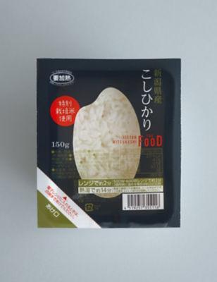 <ISETAN MITSUKOSHI THE FOOD> (DHL)新潟県産特別栽培米こしひかり パックご飯 150g 06801<三越・伊勢丹/公式>