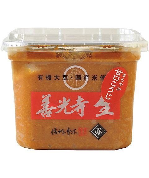 (DHL)信州善光寺生味噌 赤 07916【三越・伊勢丹/公式】