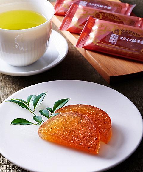 岐阜【御菓子つちや】スライス柿羊羹(和菓子)【三越・伊勢丹/公式】