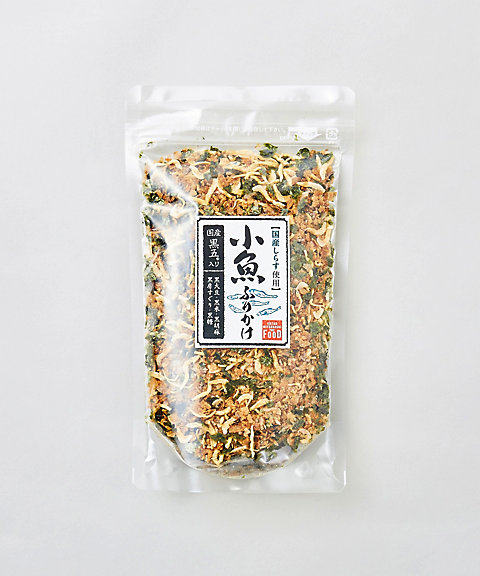 <ISETAN MITSUKOSHI THE FOOD> 国産黒五入りふりかけ 小魚 袋入【三越・伊勢丹/公式】