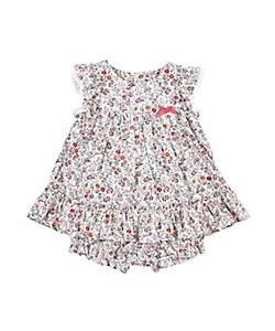 Tartine et Chocolat(Baby&Kids) /タルティーヌ・エ・ショコラ リバテイプリントジャンパースカート
