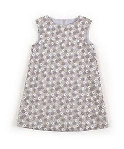 Tartine et Chocolat(Baby&Kids) /タルティーヌ・エ・ショコラ フラワーししゅうジャンパースカート