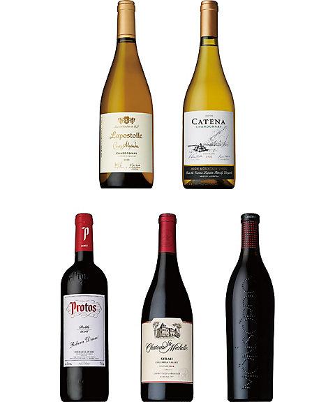 三越・伊勢丹オンラインストア【SALE(伊勢丹)】 027 日本の専門家・愛好家が選んだ最も美味しいワイン 日本で飲もう最高のワイン2018受賞赤・白ワイン5本セット 【三越・伊勢丹/公式】