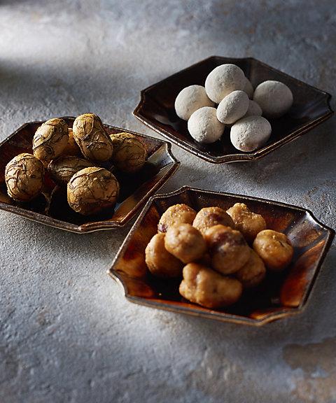 東京【HIGASHIYA】豆菓子3種の詰合せ(和三盆豆・昆布豆・柚子胡椒豆)(和菓子)【三越・伊勢丹/公式】
