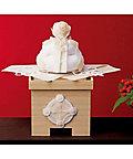 【お歳暮】送料無料! 【A208103】〈夢み屋〉白枠 正月鏡餅飾り 【三越・伊勢丹/公式】