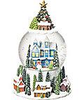 【お歳暮】送料無料! 【A210073】〈APJクリスマス〉スノードーム(ツリーハウス スノーグローブ) 【三越・伊勢丹/公式】