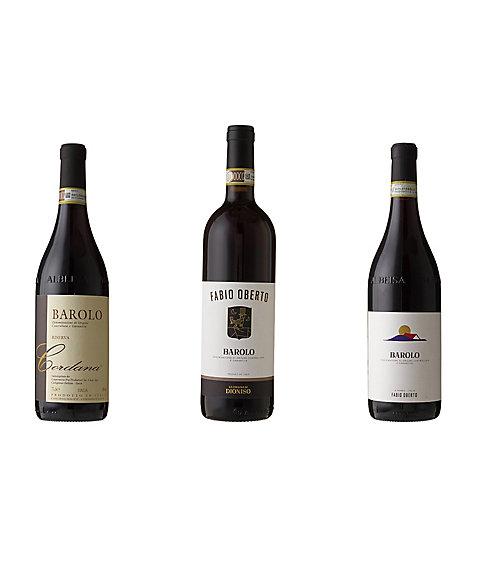 三越・伊勢丹オンラインストア【SALE(伊勢丹)】 016 イタリアワインの王様 バローロ赤ワイン3本セット 【三越・伊勢丹/公式】