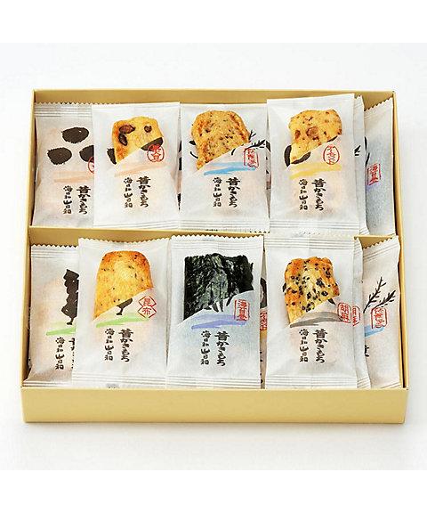 <王様堂本店> 昔かきもち海日和山日和 24枚(和菓子)【三越・伊勢丹/公式】