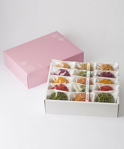 <花咲かりん/ハナサキカリン> 花咲かりん15個詰合せ(塩入り)(和菓子)【三越伊勢丹/公式】