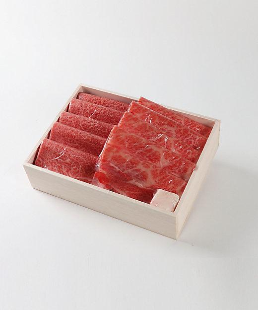 <片葉三/カタバミ> 特産松阪牛 肩・肩ロース すき焼・焼肉用【三越伊勢丹/公式】