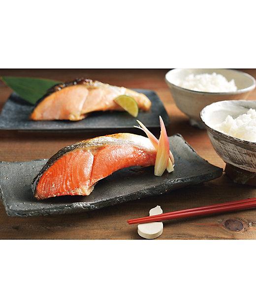 20023 紅鮭・時鮭切身セット(1切真空) 1箱【三越伊勢丹/公式】