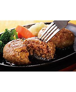 17059 大阪<黒毛和牛専門焼肉 牛善>黒毛和牛ハンバーグ 8個×1箱
