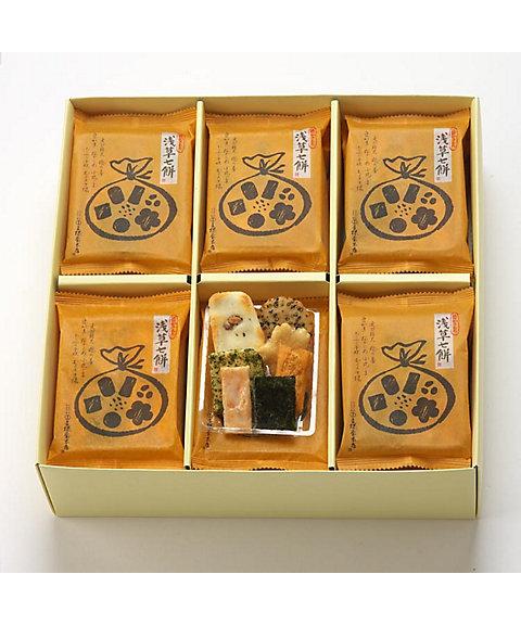 <王様堂本店> 浅草七餅 24袋入(和菓子)【三越・伊勢丹/公式】