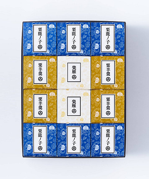 <小布施堂> 栗の小径詰め合わせ 12個入(和菓子)【三越・伊勢丹/公式】