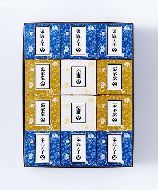 <小布施堂/オブセドウ> 栗の小径詰め合わせ 12個入(和菓子)【三越伊勢丹/公式】