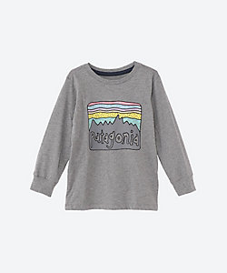 PATAGONIA(Baby&Kids)/パタゴニア ベビー・ロングスリーブ・グラフィック・オーガニック・Tシャツ 60370