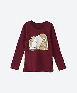 PATAGONIA(Baby&Kids)/パタゴニア Girls'Long-Sleeved Graphic Organic Cotton T-Shirt 62214