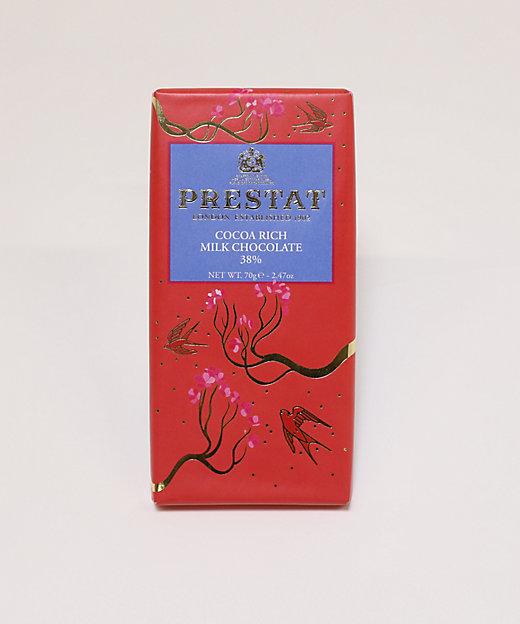 <PRESTAT/プレスタ> チョコレートバー カカオリッチミルク38%(洋菓子)【三越伊勢丹/公式】