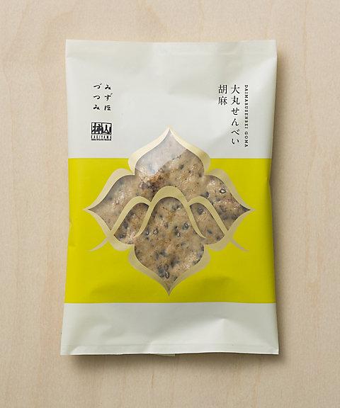 <赤坂柿山> 大丸せんべい 胡麻 【三越・伊勢丹/公式】
