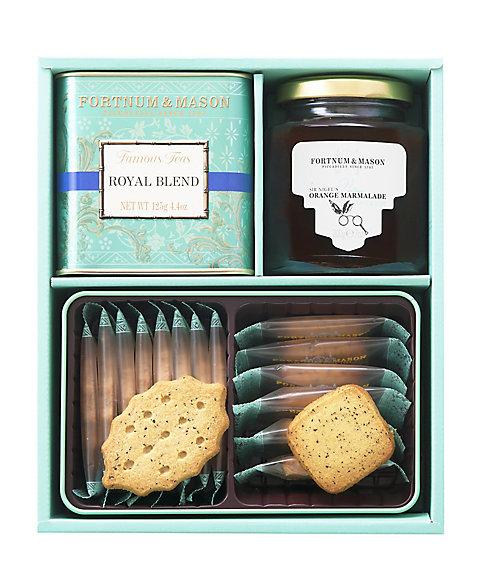 <フォートナム・アンド・メイソン/Fortnum & Mason>【クッキー】紅茶・焼菓子・ジャム詰合せ(AS-40)(洋菓子)【三越・伊勢丹/公式】