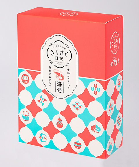 <坂角総本舗> さくさく日記(海老) 6袋(和菓子)【三越・伊勢丹/公式】