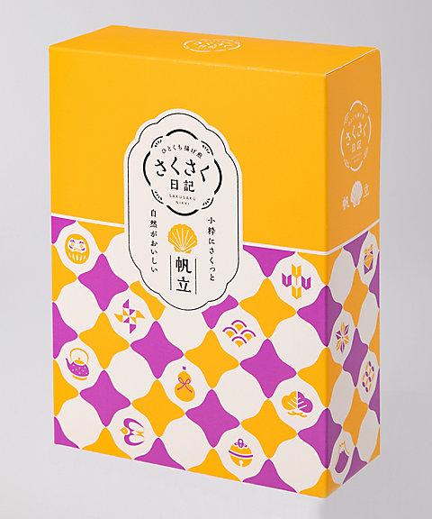 <坂角総本舗> さくさく日記(帆立) 6袋(和菓子)【三越・伊勢丹/公式】