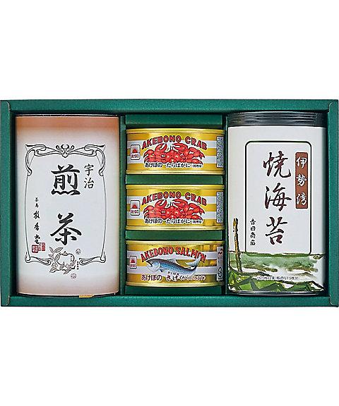 【661413】海苔・銘茶・缶詰詰合せ 【三越・伊勢丹/公式】