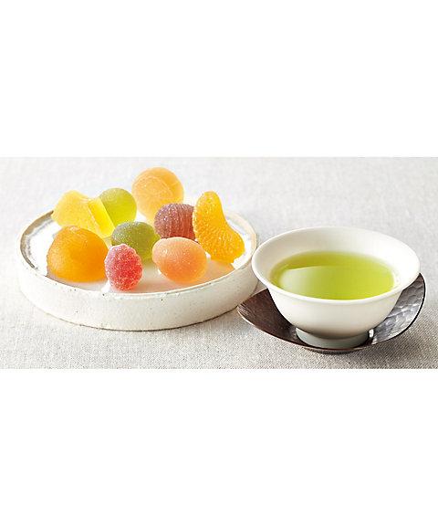 【送料無料】<彩果の宝石> 静岡煎茶・紅茶・珈琲詰合せ(洋菓子)【三越・伊勢丹/公式】