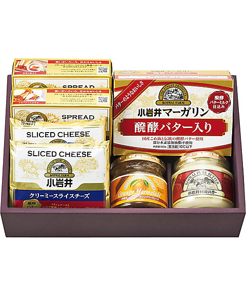 【お歳暮】【送料無料】<小岩井> 乳製品詰合せ【三越・伊勢丹/公式】