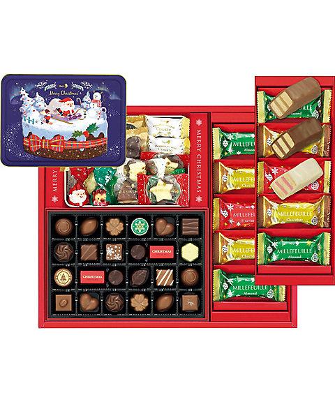 【お歳暮】【送料無料】<シーキューブ> 【B040503】〈メリーチョコレート〉クリスマスタイム 【三越・伊勢丹/公式】