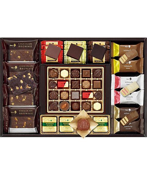 【お歳暮】【送料無料】 【B040553】〈メリーチョコレート〉エレガントギフト 【三越・伊勢丹/公式】