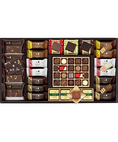 【お歳暮】【送料無料】 【B040563】〈メリーチョコレート〉エレガントギフト 【三越・伊勢丹/公式】