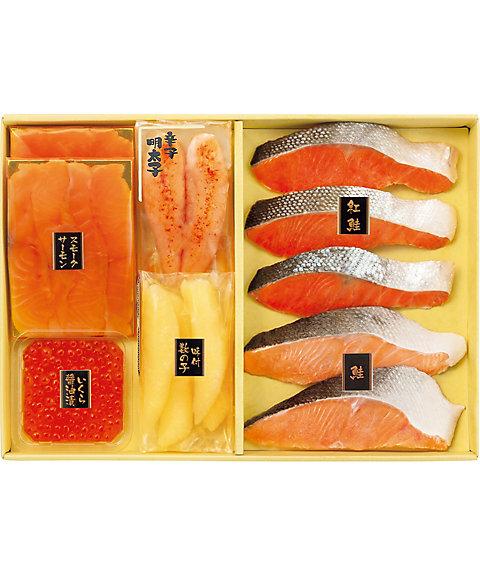 【お歳暮】【送料無料】 【Y044503】〈幸乃家〉鮭と魚卵の詰合せ 【三越・伊勢丹/公式】
