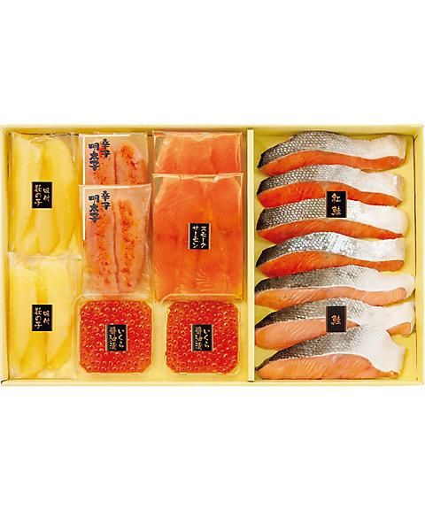 【お歳暮】【送料無料】<幸乃家> 鮭と魚卵の詰合せ【三越・伊勢丹/公式】