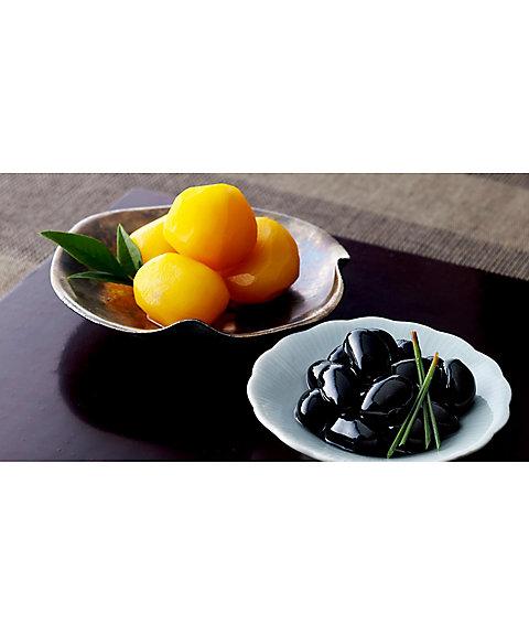 【お歳暮】【送料無料】<日本料理 神谷> 黒豆煮・栗甘露煮詰合せ【三越・伊勢丹/公式】