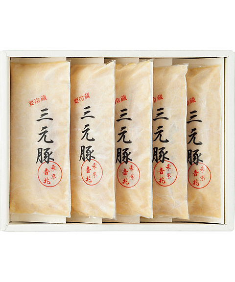 【お歳暮】【送料無料】 【C312011】〈東京吉兆〉三元豚西京味噌漬 【三越・伊勢丹/公式】