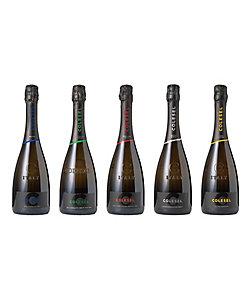 007.〈コルゼル〉キュベ テイスティング スパークリングワイン5本セット