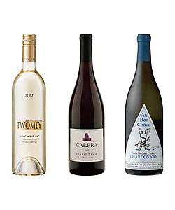 021.カリフォルニア人気ワイン赤・白3本セット
