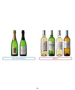 022.フランス・ボルドー地方白・スパークリングワイン6本セット